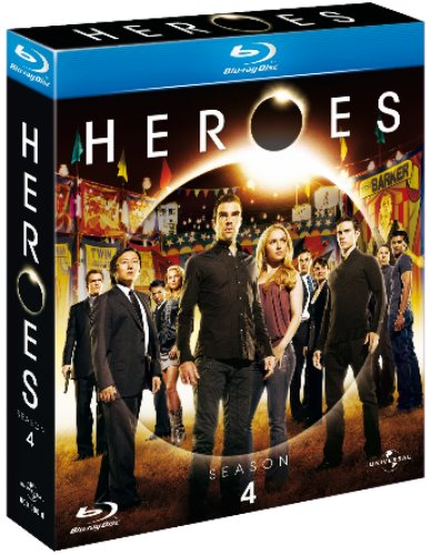 Heroes - Temporada 4 - Blu-Ray