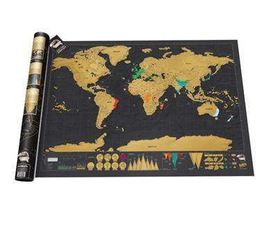 fnac mapa Mapa mural del mundo Scratch Deluxe    5% en libros   FNAC fnac mapa