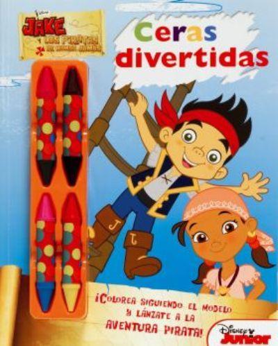 Disney libros Jake y los piratas-