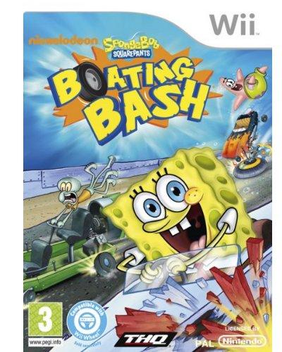 Bob Esponja Botes De Choque Wii para  Los mejores videojuegos
