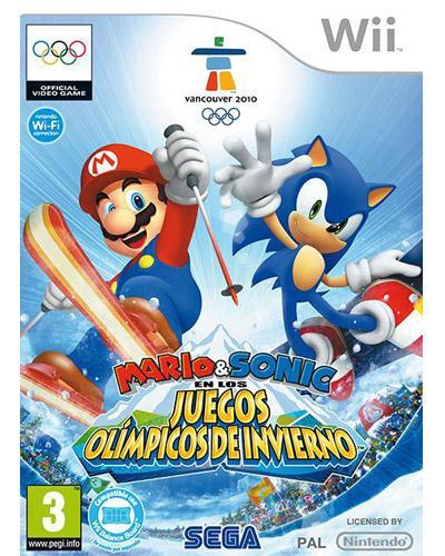 Mario Y Sonic En Los Juegos Olimpicos De Invierno Sochi 2014 Wii U