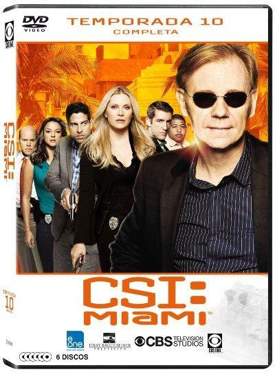 CSI: Miami Temporada 10 - DVD