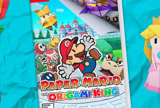 Paper Mario - The Origami King Nintendo Switch