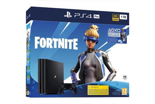 Consola PS4 PRO 1 TB + Fortnite Voucher 2019