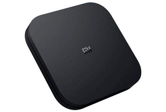 Reproductor multimedia Xiaomi MI TV BOX S 4K HDR negro