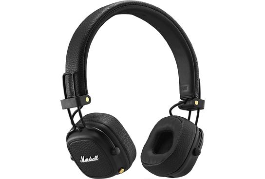 Auriculares Bluetooth Marshall Major III Negro