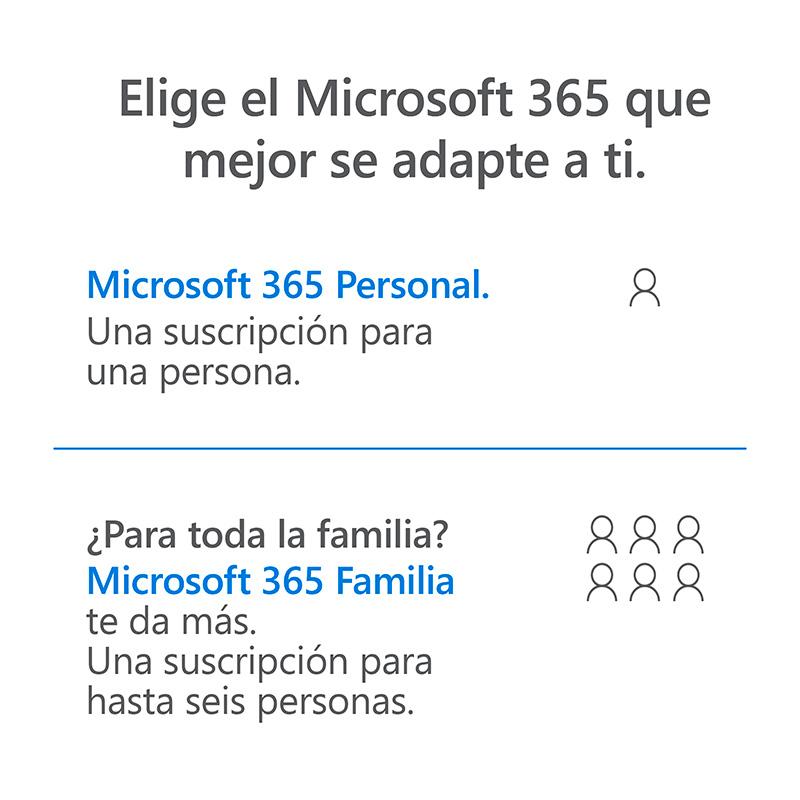 Microsoft 365 - Elige