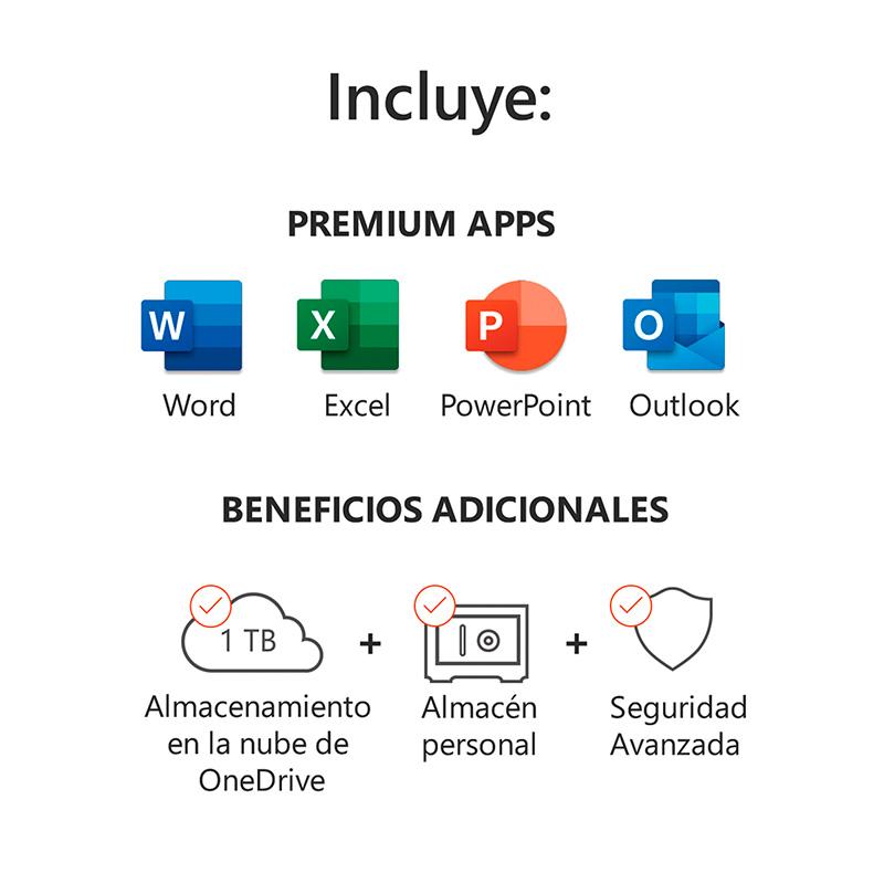 Microsoft 365 - Incluye