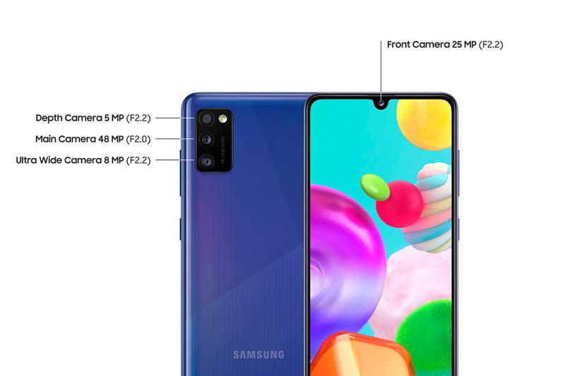 Samsung A41 - Cámara