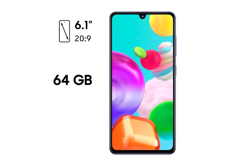 Samsung A41 - Pantalla