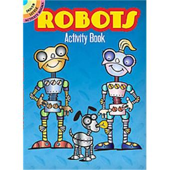 Robots activity book