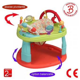 Bébéachat Base Dactivités Pour Bébé Trot06 Coloris Smiley