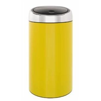 BRABANTIA Poubelle Bin Color jaune 45 L [Cuisine] [Cuisine] - Achat ...