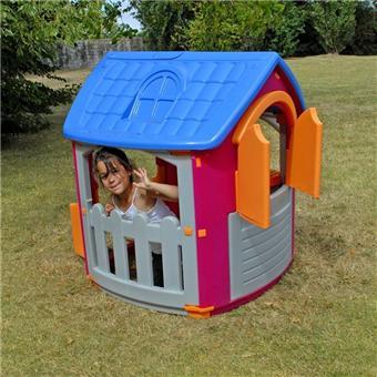 Soulet maison de jardin maisonnette en plastique - Maison de jardin en plastique ...