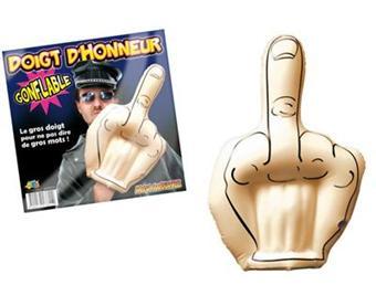 Doigt D Honneur Photo doigt d'honneur gonflable, autre petit gadget, top prix | fnac