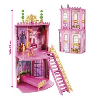 mattel accessoires barbie barbie chateau secrets et surprises achat prix fnac. Black Bedroom Furniture Sets. Home Design Ideas