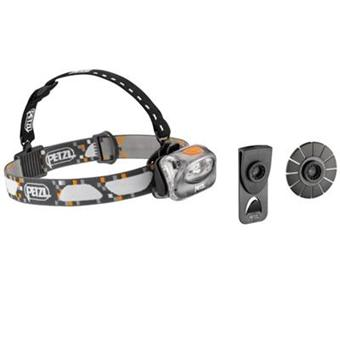 Lampe Frontale Power Led Petzl Tikka Plus 2 Grise Adaptateurs 1