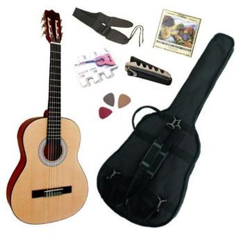Pack Guitare Classique 1/2 Pour Enfant (6-9ans) Avec 6 ...