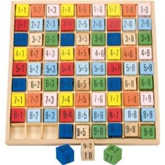 Table de multiplication en couleur jusqu 39 9x9 chiffres et calcul achat prix fnac - Tables de multiplication jusqu a 100 ...