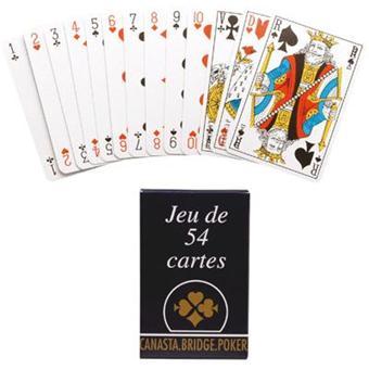rabais de premier ordre super promotions dernier style Jeu De Carte Sous Etui Carton - Jeu De 54