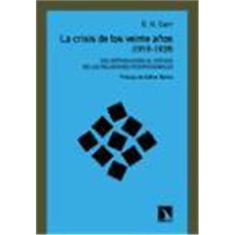 La crisis de los veinte años (1919-