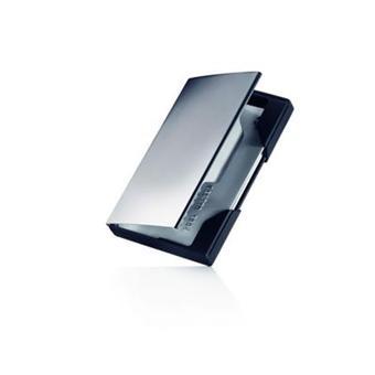 Etui Porte Cartes De Visite Noir Titanium Top Prix Fnac - Porte cartes de visite