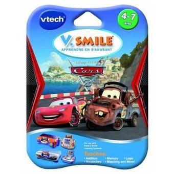 Vtech - Jeu pour console de jeux - Vsmile : Cars 2