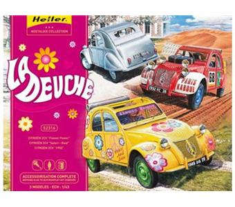 heller la deuche 2 cv maquette achat prix fnac. Black Bedroom Furniture Sets. Home Design Ideas