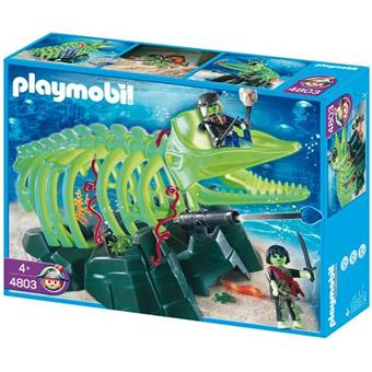 4803 playmobil squelette de baleine avec pirate fantome - Playmobil pirate fantome ...