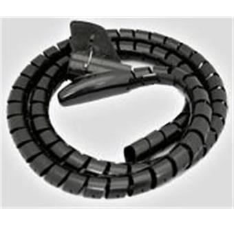 couvre c ble cache c bles noir flexible pour rassembler et cacher les c bles lectriques. Black Bedroom Furniture Sets. Home Design Ideas
