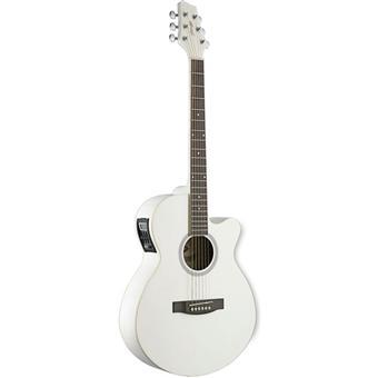 Guitare Folk Electro Stagg SW206 avec accordeur couleur ...