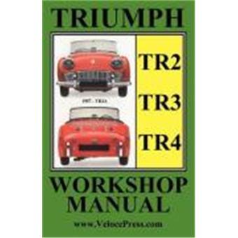 Triumph Tr2 Tr3 Tr4 1953 1965 Owners Workshop Manual Autres