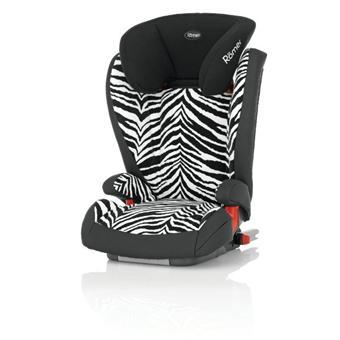 romer si ge auto groupe 2 3 kidfix smart zebra. Black Bedroom Furniture Sets. Home Design Ideas