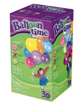 Bouteille D Helium Jetable 30 Ballons Latex 9 Multicolores