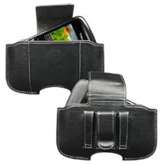 Etui horizontal avec passant et clip ceinture - Fermeture aimant - Couleur  Noir pour le Blackberry 8520 Curve - Etui pour téléphone mobile - Achat    prix   ... 9b7b3835c77