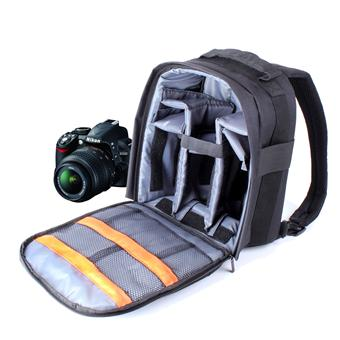 économiser 91d08 3d638 Sac à dos appareil photo résistant à l'eau DURAGADGET pour reflex Nikon  D7000, D600 & D5200