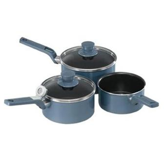 tefal s rie 3 casseroles performa induction bleu achat. Black Bedroom Furniture Sets. Home Design Ideas