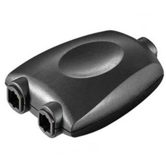 adaptateur toslink en y prise spdif en fibre optique noir c bles vid o achat prix fnac. Black Bedroom Furniture Sets. Home Design Ideas