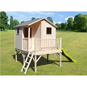 soulet cabane maisonnette en bois sur pilotis pour enfant sixtine soulet maisons de jardin. Black Bedroom Furniture Sets. Home Design Ideas