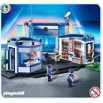 playmobil 4264 commissariat de police achat prix fnac. Black Bedroom Furniture Sets. Home Design Ideas