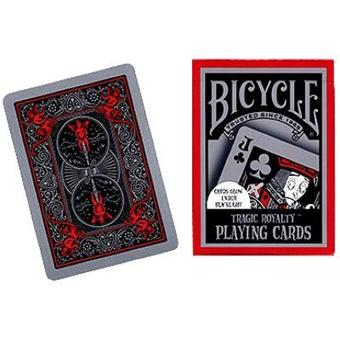 jeux de carte bicycle Jeu de 54 cartes : BICYCLE Tragic Royalty   Jeu de cartes   Achat