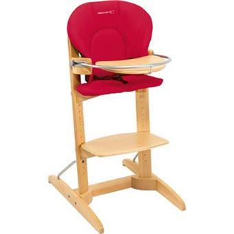 bebe confort chaise haute bois woodline intense red chaises hautes et r hausseurs achat. Black Bedroom Furniture Sets. Home Design Ideas