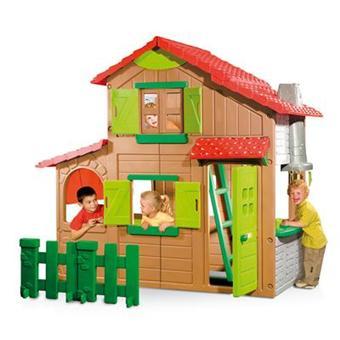 smoby maison de jardin floralie maison duplex. Black Bedroom Furniture Sets. Home Design Ideas