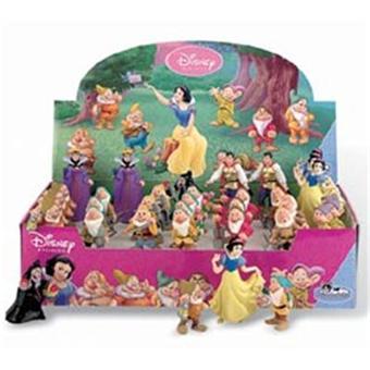 Blanche neige et les sept nains pr sentoir figurines 8 cm for Maison des sept nains