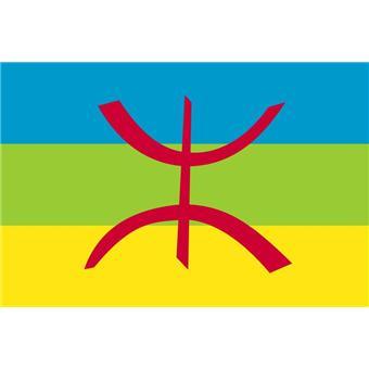 Algerie Drapeau drapeau kabylie algérie - 150 x 90 cm, autre poster, top prix | fnac