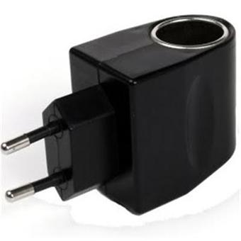 adaptateur secteur allume cigare 12 220v adaptateur et. Black Bedroom Furniture Sets. Home Design Ideas