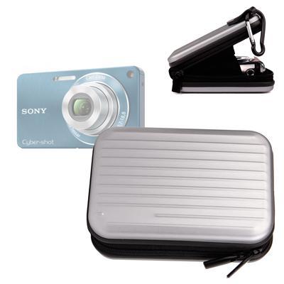 Etui en aluminium léger pour Sony CyberShot DSC-W350, W570, W630, WX80 et WX7