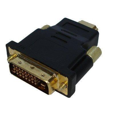Plus de détails NOVAGO - Adaptateur HDMI 19Pin mâle vers DVI 24+1 Pin mâle, V1.3b ,conforme Norme HD 1080 P, Plaqués
