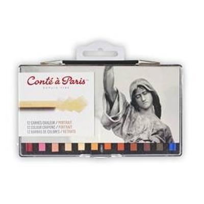 Boite 12 Conte carre couleurs