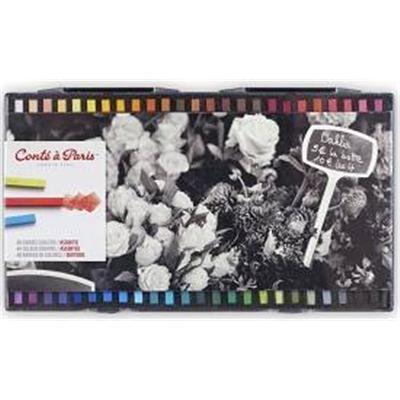Boite 48 Conte carre couleurs